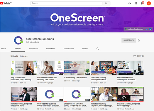 Interactive whiteboard software - OneScreen Annotate