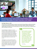 OneScreen New Subscription Model