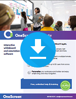OneScreen Annotate Sales Sheet