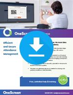 OneScreen Attendance Sales Sheet