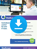 OneScreen Central Sale Sheet
