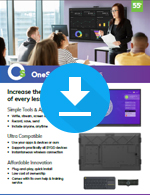 OneScreen Hubware 6 for Education Sales Sheet
