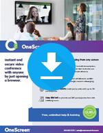 OneScreen Hype v3 Sales Sheet