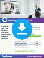 OneScreen Subscription Sales Sheet