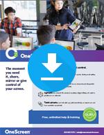 OneScreen Swap v2 Sales Sheet