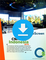 OneScreen Wall - testimonio CNN Indonesia