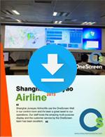 OneScreen Wall - testimonio Shanghai Juneyao Airline