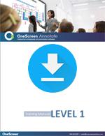 OneScreen Annotate Tutorial Level 1