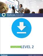OneScreen Annotate Tutorial Level 2
