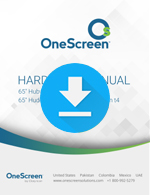 OneScreen Touchscreen Hardware Manual